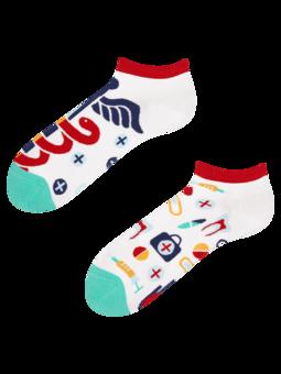 Veselé kotníkové ponožky Zdraví