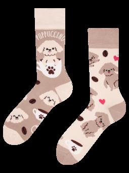 Calcetines alegres Puppuccino