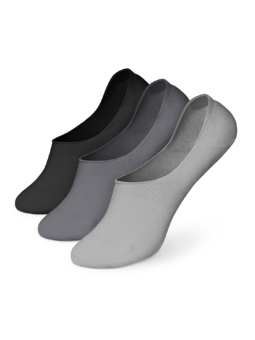 Cotton No Show Socks 3-pack Classic