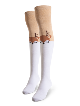 Over the Knee Socks Deer