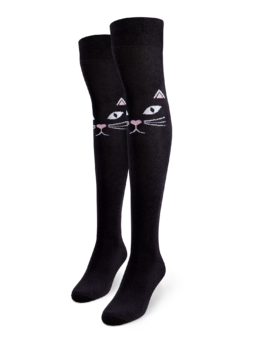 Over the Knee Socks Magnificent Cat