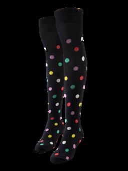 Весели чорапи над коляното Точки