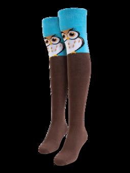 Over the Knee Socks Owl