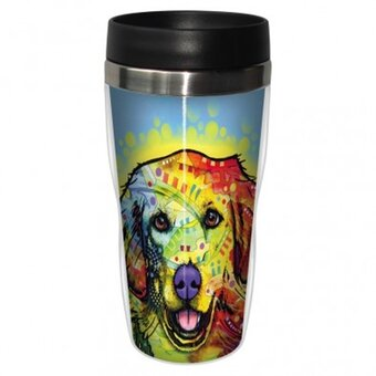 Thermo Mug Russo - Golden Retriever