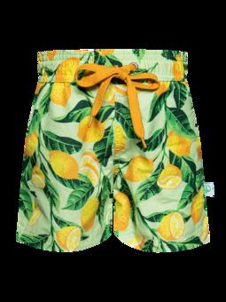 Vesele kupaće hlače za dječake Limuni