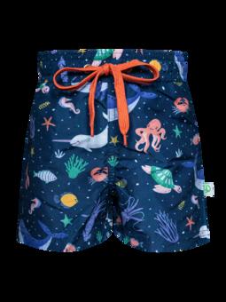 Veselé chlapčenské plavkové šortky V ponorke