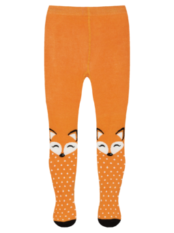 Kids' Tights Fluffy Fox