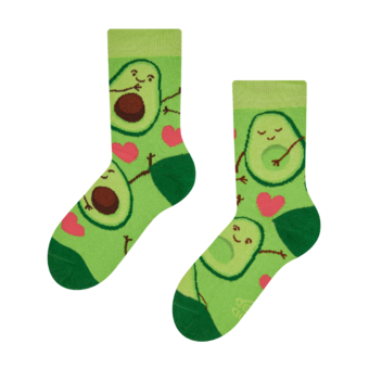 Kids' Socks Avocado Love