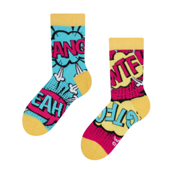 Kids' Socks Comics