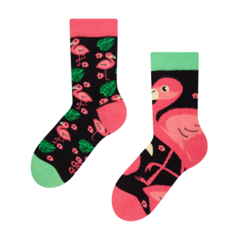 Kids' Socks Flamingos