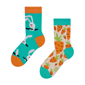 Kids' Socks Carrot Rabbit