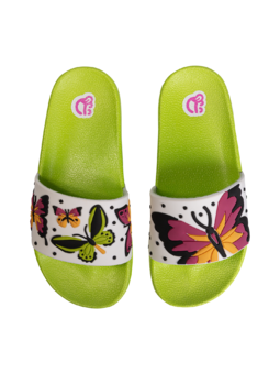 Kids' Slides Colorful Butterflies