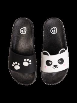 Veselé detské šľapky Labky pandy