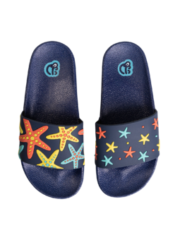 Veselé dětské pantofle Mořská hvězda