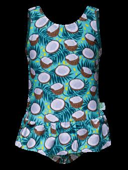 Wesoły strój kąpielowy dla dziewcząt Kokos