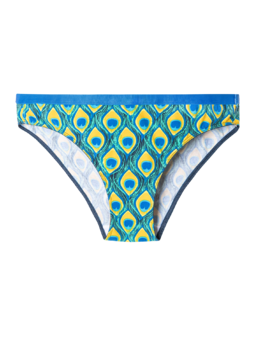 Women's Briefs Peacock