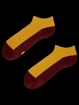 Gorčično rumene kratke nogavice Sled