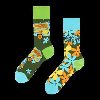 Весели чорапи Scooby Doo ™ Мистериозен ван