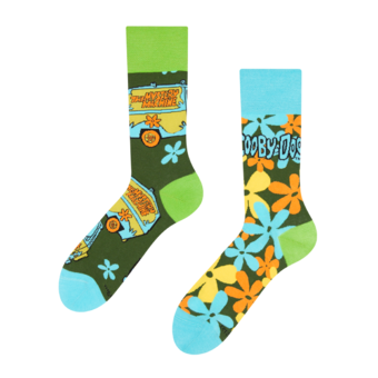 Scooby Doo ™Regular Socks The Mystery Machine