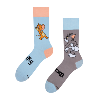 Chaussettes rigolotes Tom and Jerry ™ Trappe