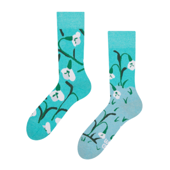 Eco Friendly Socks Snowdrops