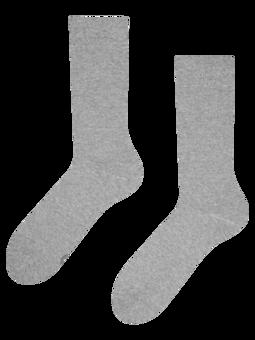 Svjetlosive čarape od recikliranog pamuka