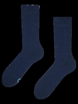 Tamnoplave čarape od recikliranog pamuka