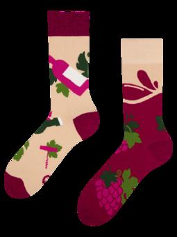 Veselé ponožky Čas na víno