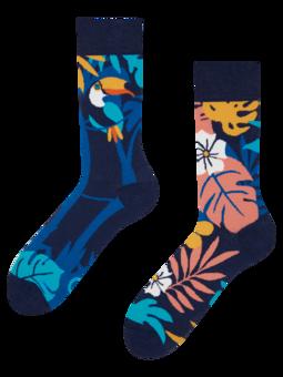 Veselé ponožky Tropický tukan