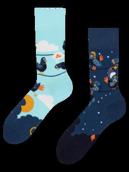 Veselé ponožky Vtipní holubi