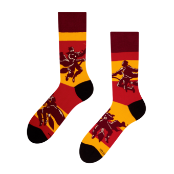 Calcetines alegres Harry Potter™ - Quidditch