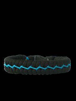 Kék-fekete paracord karkötő Suit