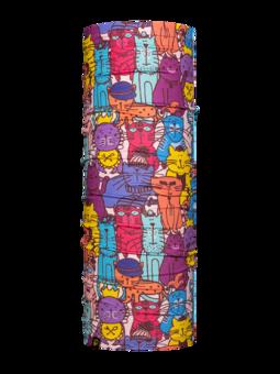 Veselý nákrčník Pestrofarebné mačky