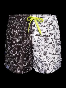 Živahne moške plavalne hlače Miklosko & Dedoles