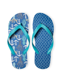 Flip Flops Octopus & Anchors