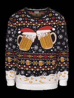 Vidám karácsonyi pulcsi Csapolt sör