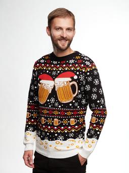 Veselý vánoční svetr Točené pivo