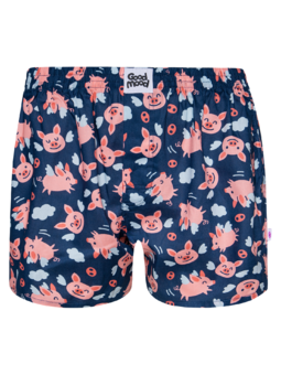 Men's Boxer Shorts Flying Pigs