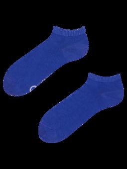 Bambusové členkové ponožky Modrý Iris