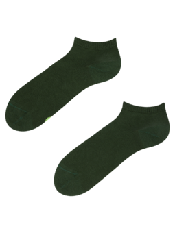 Bambusové členkové ponožky Olivovo zelené