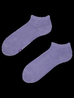 Bambusové členkové ponožky Pastelovo fialové