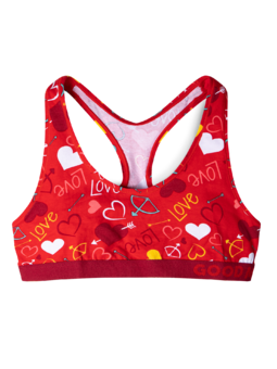 Women's Bralette Hearts