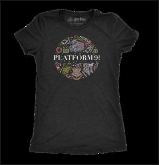 Dámské tričko Harry Potter™ Nástupiště 9 a ¾