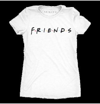 Dámské triko Přátelé ™ Logo