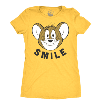 Women's T-Shirt Tom & Jerry - Smile