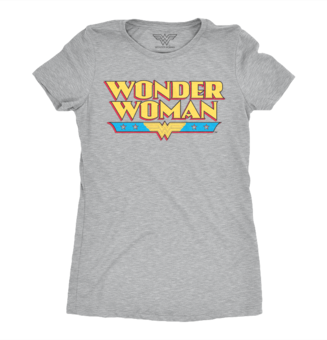 Women's T-Shirt Wonder Woman Logo