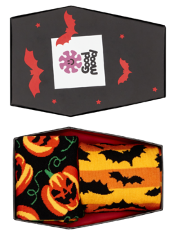 Pudełko z prezentem Halloween