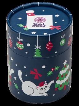 Caja regalo Gatos navideños