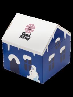 Dárková krabička Zimní pohádková krajina