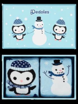 Warm Kids' Gift BoxPenguin & Snowman